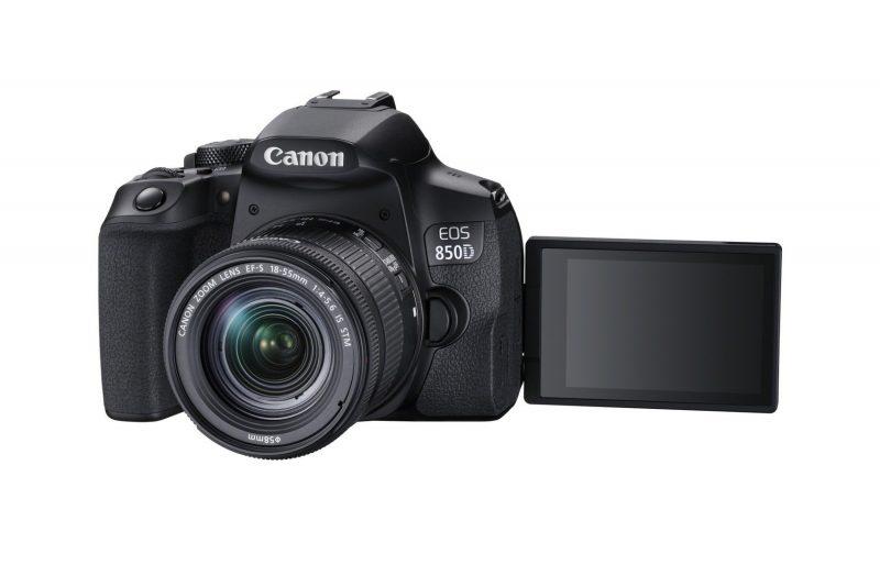 "Canon EOS 850D - Schwenkdisplay im ""Selfie-Modus"""