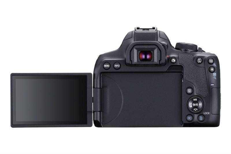 Canon EOS 850D - Rückseite mit Schwenkdisplay