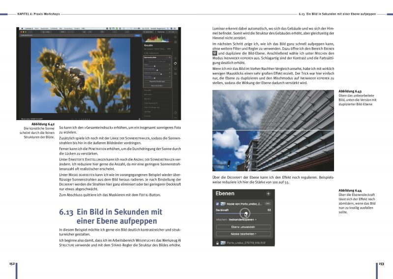 Luminar 4 Praxiseinstieg - Seiten 152-153