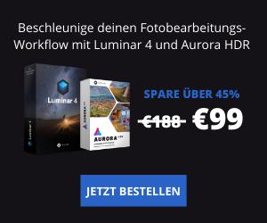 Sommer-Ende Verkauf von Luminar und Aurora als Set