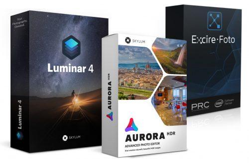 Trio: Luminar, Aurora und Excire Foto