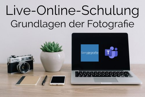 Live Online Schulung (Webinar) - Grundlagen der Fotografie