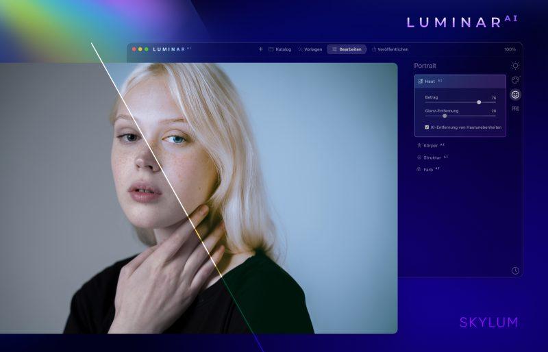 Luminar AI - Portrait Teaser