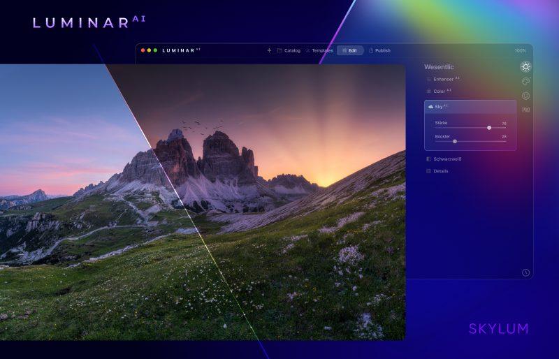 Luminar AI - Landschaftsbildbearbeitung Teaser