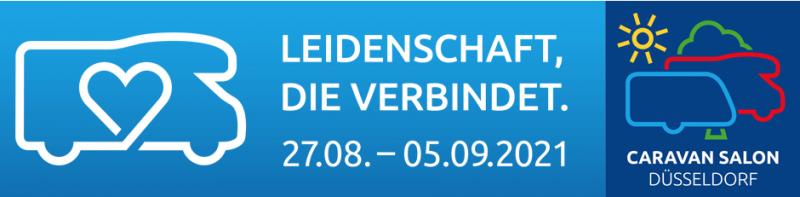 Caravan Salon Düsseldorf Banner 2021