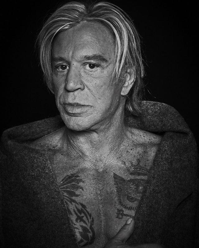 Mickey Rourke © Bob Leinders via PHOTOPIA Hamburg