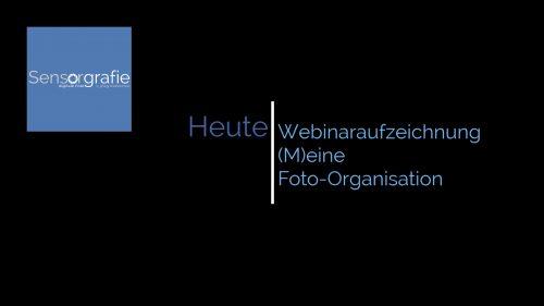 (M)eine Foto-Organisation