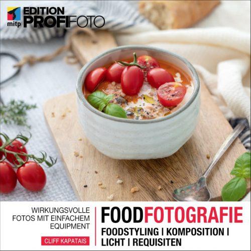 Foodfotografie, Buchcover © mitp-Verlag, Cliff Kapatalis