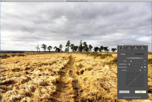 Photomatix HDR Nachbearbeitung