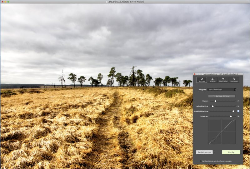 Photomatix Pro HDR Bildnachbearbeitung